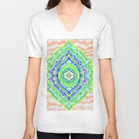 geology V-neck T-shirts featuring Geology by Smiley's Dreamboat