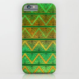 Green Jubilation iPhone Case