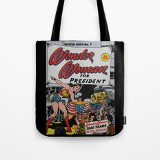 Comic Number 7 Tote Bag
