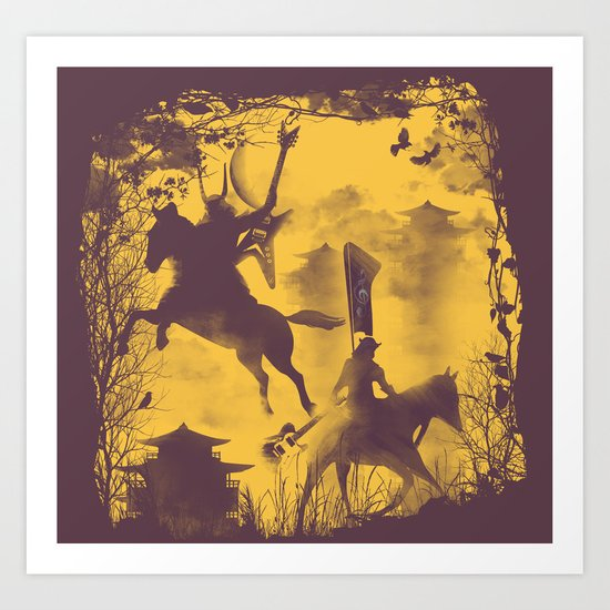 The Rock Metal Clan Art Print