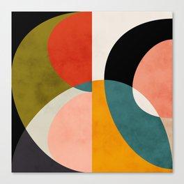 geometry shapes 3 Canvas Print