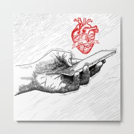 And I'll send all my loving to you Metal Print