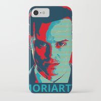 moriarty iPhone & iPod Cases featuring MORIARTY by Pop Atelier