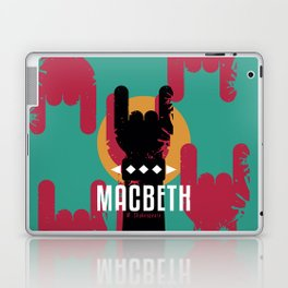 Macbeth by Shakespeare Laptop & iPad Skin