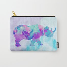 Abstract Rhino B Carry-All Pouch