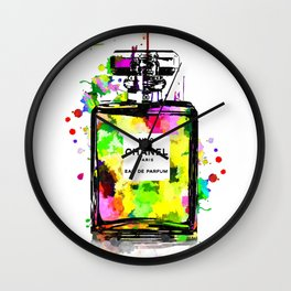 No 19 Colored Wall Clock