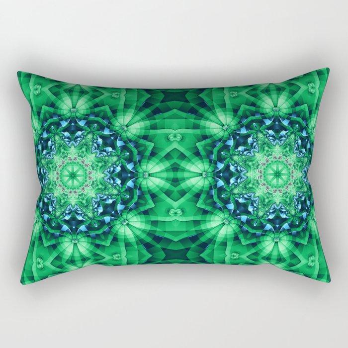 Patterns in a Kaleidoscope Rectangular Pillow