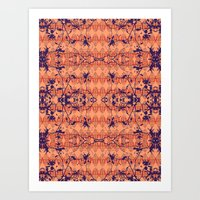 jungle Art Prints featuring Jungle by Nahal