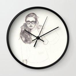 No.6 Fashion Illustration Series Wall Clock