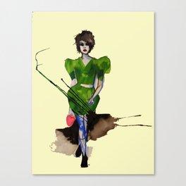 Models Ink 11 Canvas Print