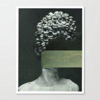 rothko Canvas Prints featuring Frau Rothko by Marko Köppe