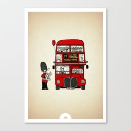 Lost in London Canvas Print