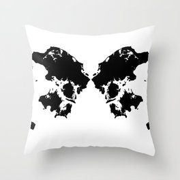 Butterfly Denmark Throw Pillow