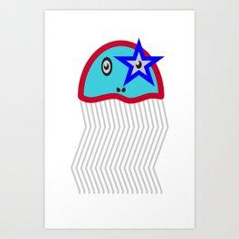 jellystar Art Print