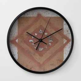 Stones and Sawdust 02 Wall Clock