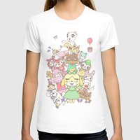 animal crossing T-shirts featuring Animal Crossing (yellow) by Siri