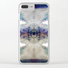 Sun Sand Sky & Sea Clear iPhone Case