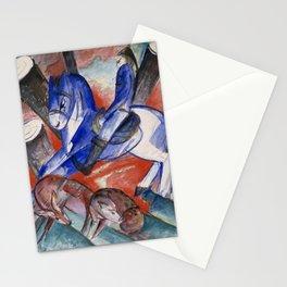 "Franz Marc ""Saint Julian l'Hospitalier"" Stationery Cards"