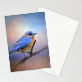 The Happiest Blue - Bluebird Stationery Cards