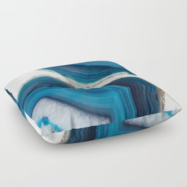 Blue Agate Floor Pillow