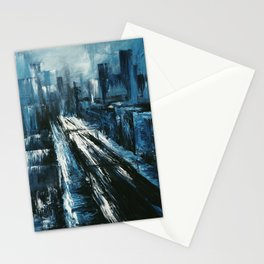 """""""Manhattan"""" Painting Stationery Cards"""