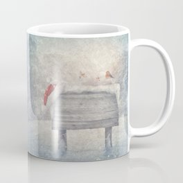 Winter wonderland birds  Coffee Mug