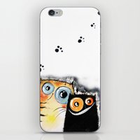 friendship iPhone & iPod Skins featuring friendship by Katja Main