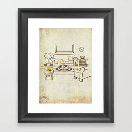 Greed - Mine, mine, all mine Framed Art Print