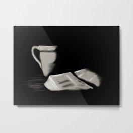 24- Bible and cup Metal Print