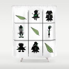 Universal Peace Shower Curtain