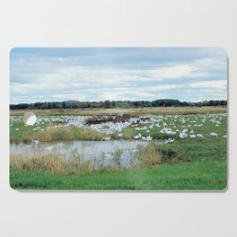 1001 Snow Geese Cutting Board
