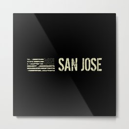 Black Flag: San Jose Metal Print