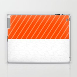 Simple Salmon Sushi Laptop & iPad Skin