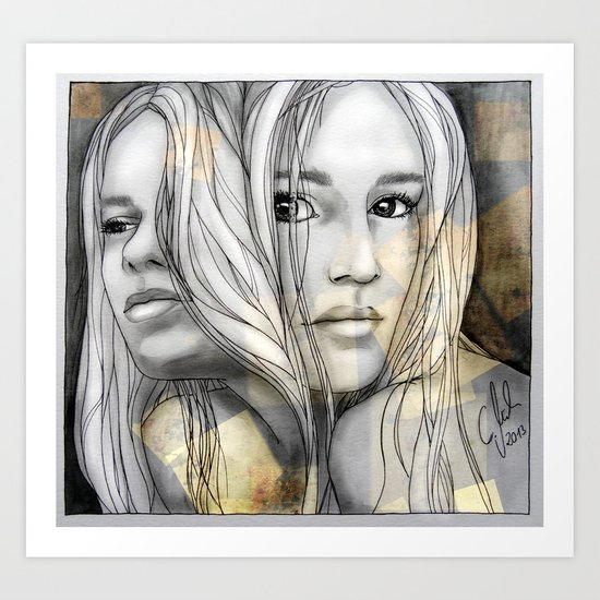 """Reflection I"" by carographic Art Print"