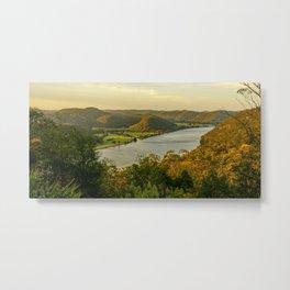 Hawkesbury River, Wisemans Ferry, NSW, Australia Metal Print