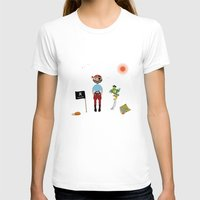 pirate T-shirts featuring Pirate by MyimagesArt