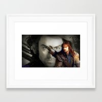 kili Framed Art Prints featuring Kili by Jetachi