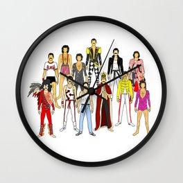 Planet Mercury Wall Clock