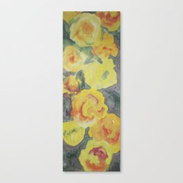 Roses of Late Summer Canvas Print