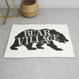 Bear Village - Grizzly Rug