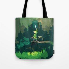 Legend Of Zelda Link Painting Art Tote Bag