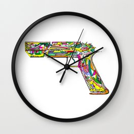 Raygun #5 Wall Clock