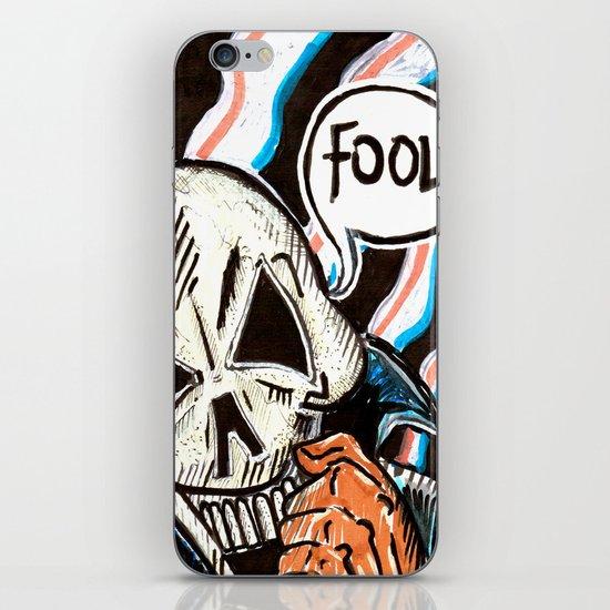 skull foolery iPhone & iPod Skin
