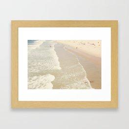 Aerial Hermosa Beach Framed Art Print
