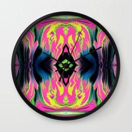 Paint Spill (Pattern 1) Wall Clock