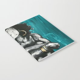 Naturally Queen IX TEAL Notebook