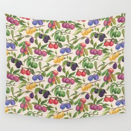 A Very Plum Plum Wall Tapestry