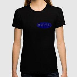 Maitri in Sacred Geometry Alphabet T-shirt