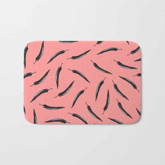 pepper pattern Bath Mat