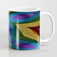 totem Mugs featuring Totem by RingWaveArt